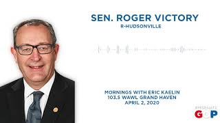 Sen. Victory joins Mornings With Eric Kaelin on 103.5 WAWL Grand Haven