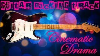 Cinematic Drama Guitar Backing Track (Dm) | 60 bpm - MegaBackingTracks