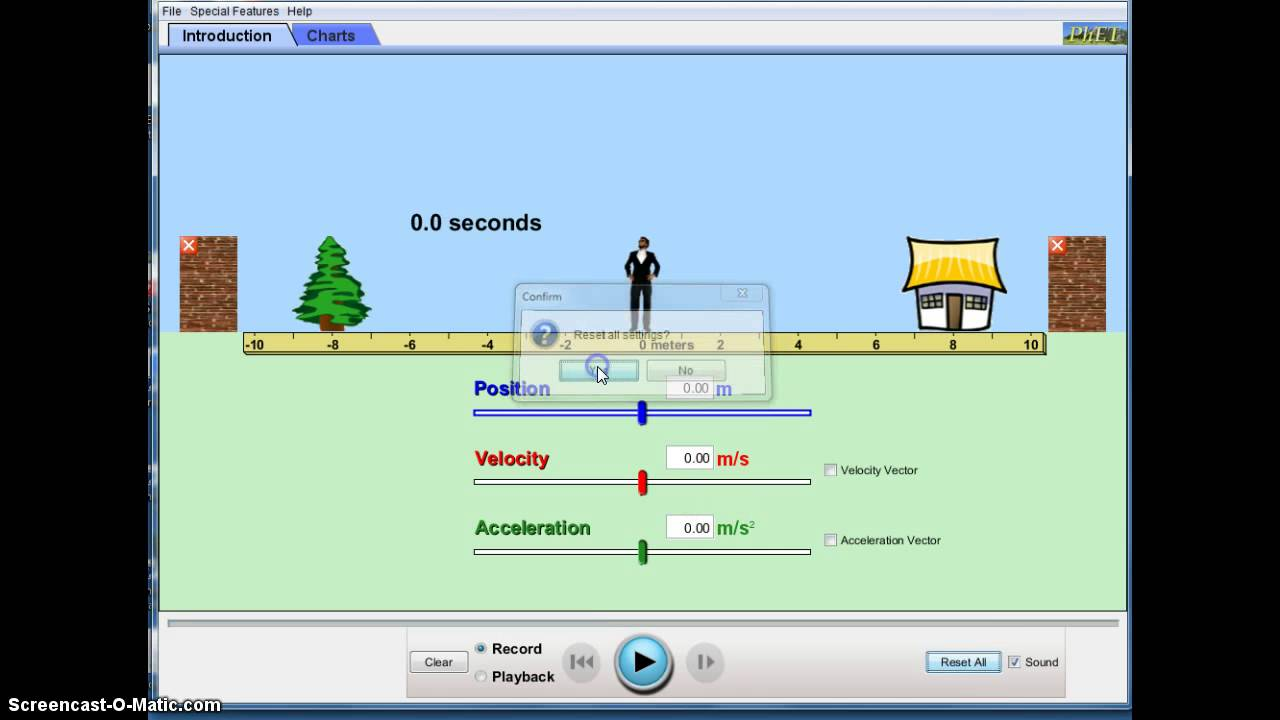 Moving Man Phet Simulation