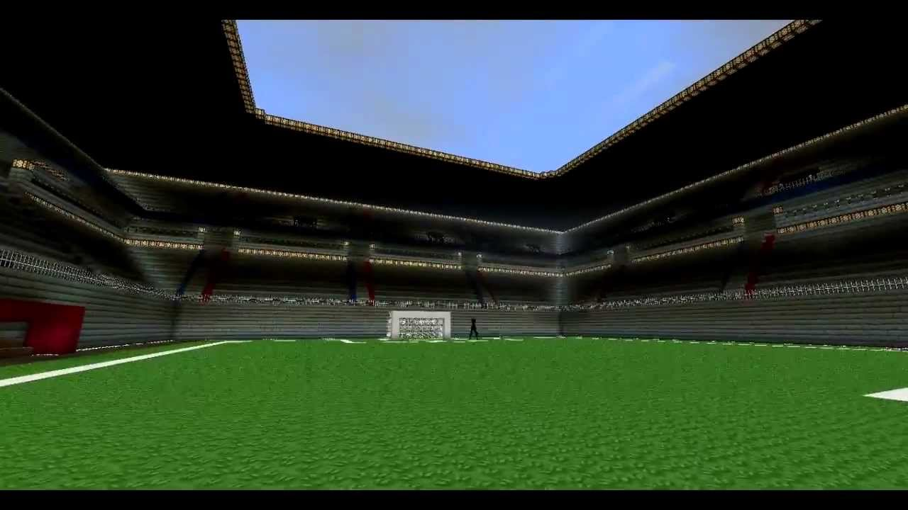 Minecraft Stade De Football FCB HD YouTube