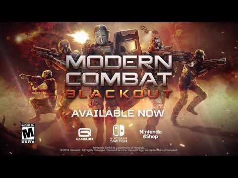 Modern Combat Blackout on the Nintendo Switch