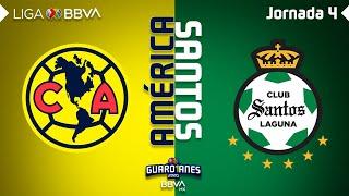 Resumen y Goles | América vs Santos Laguna | Liga BBVA MX - Guardianes 2020 - Jornada 4