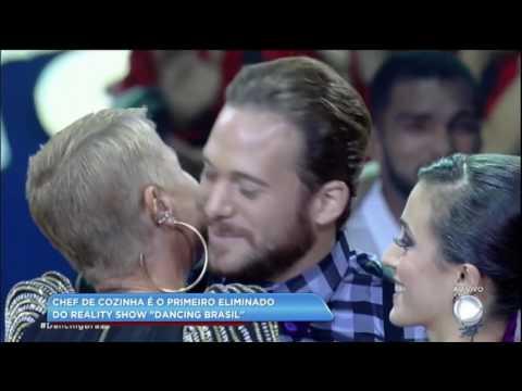 Hora da Venenosa: Fabíola Reipert comenta primeira eliminação do Dancing Brasil