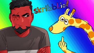 Skribblio Funny Moments - Animals with Serious Problems