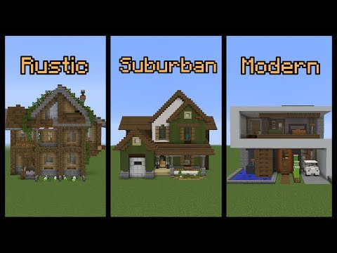 Minecraft Build School: Building Different Styles