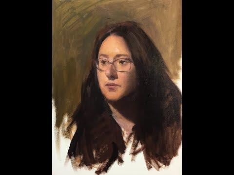 Alla-Prima Portrait Painting Tutorial (Volume 2)
