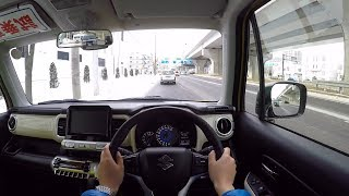【試乗動画】2018 新型 スズキ クロスビー ハイブリッドMZ 4WD 市街地試乗