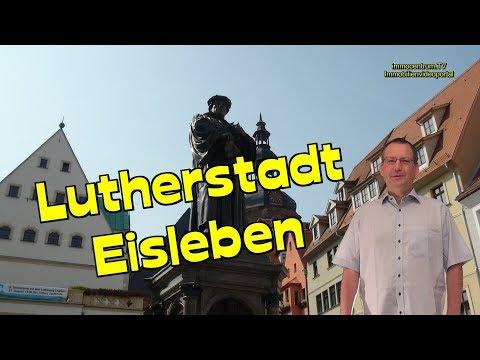 Eisleben Lutherstadt in Sachsen-Anhalt🏰🕍⛲🖼Unesco-Welterbestadt-Sehenswürdigkeiten-Sights