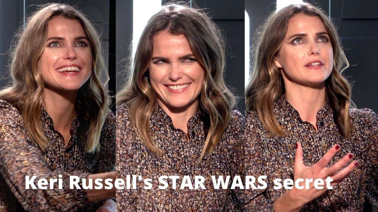 Why Keri Russell Can Never Walk Outside With Adam Driver Rise Of Skywalker 2019 Youtube