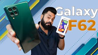 Samsung Galaxy F62 Unboxing & First Impressions⚡Flagship Exynos 9825,7000mAh Battery Under Rs.24,000