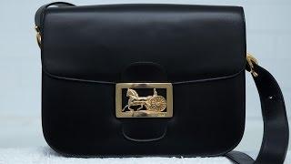 Vintage Celine Box Bag Review