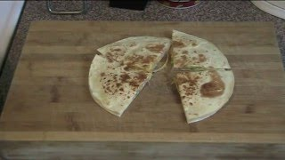 Quick Quesadillas (mexican Toasted/grilled Cheese Sandwiches) - Recipe