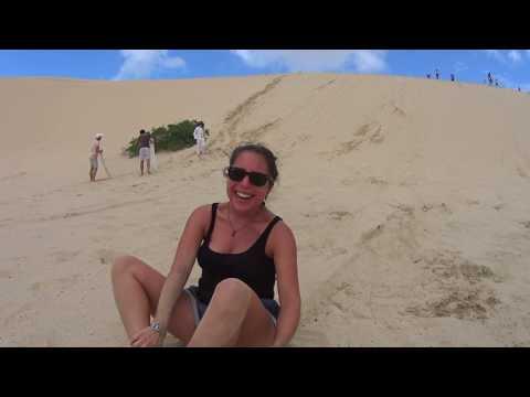 Worimi National Park - Sand Board, le cri de Jennifer