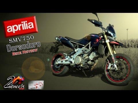 Aprilia SMV750 Dorsoduro '10 bike review - 2WheelsEurope HD