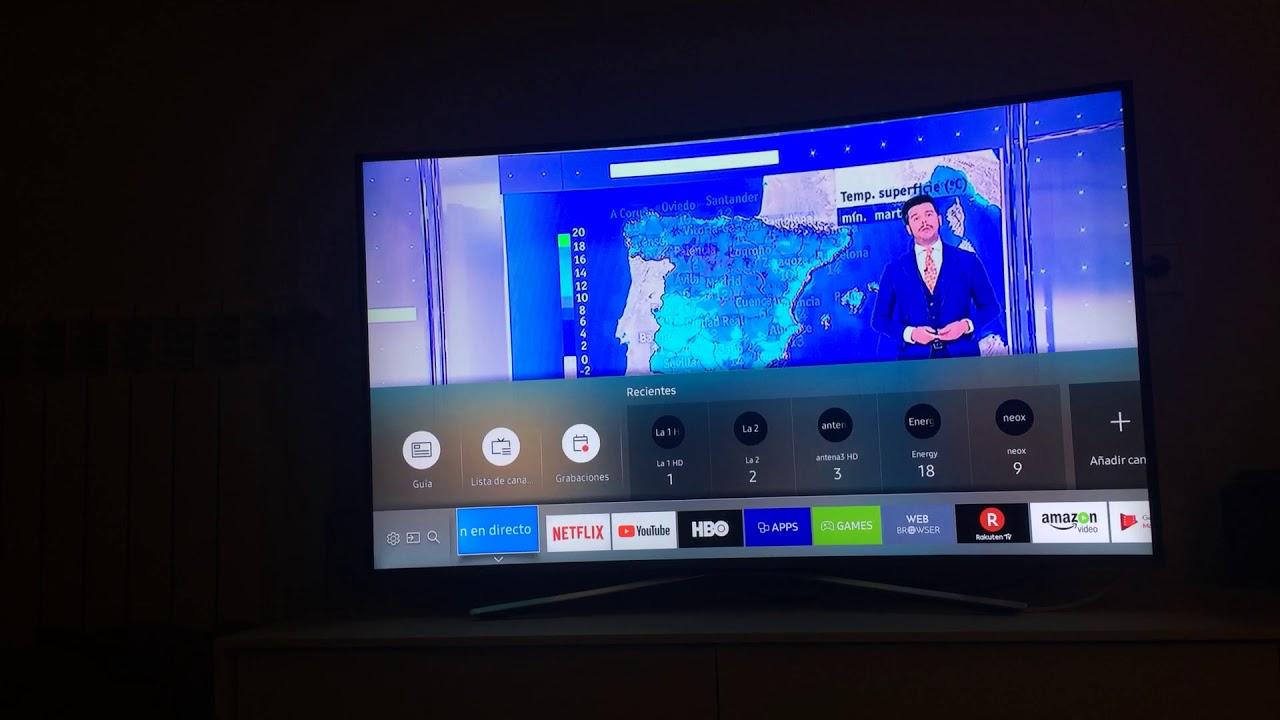 Cómo Ordenar Los Canales En Un Smart Tv Samsung Ku6500 Youtube