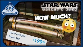 Woah Galaxy's Edge Prices leaked! Legacy Lightsaber and Holocrons too