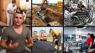 Профессии и Зарплаты как живут в Германии 2017 #1