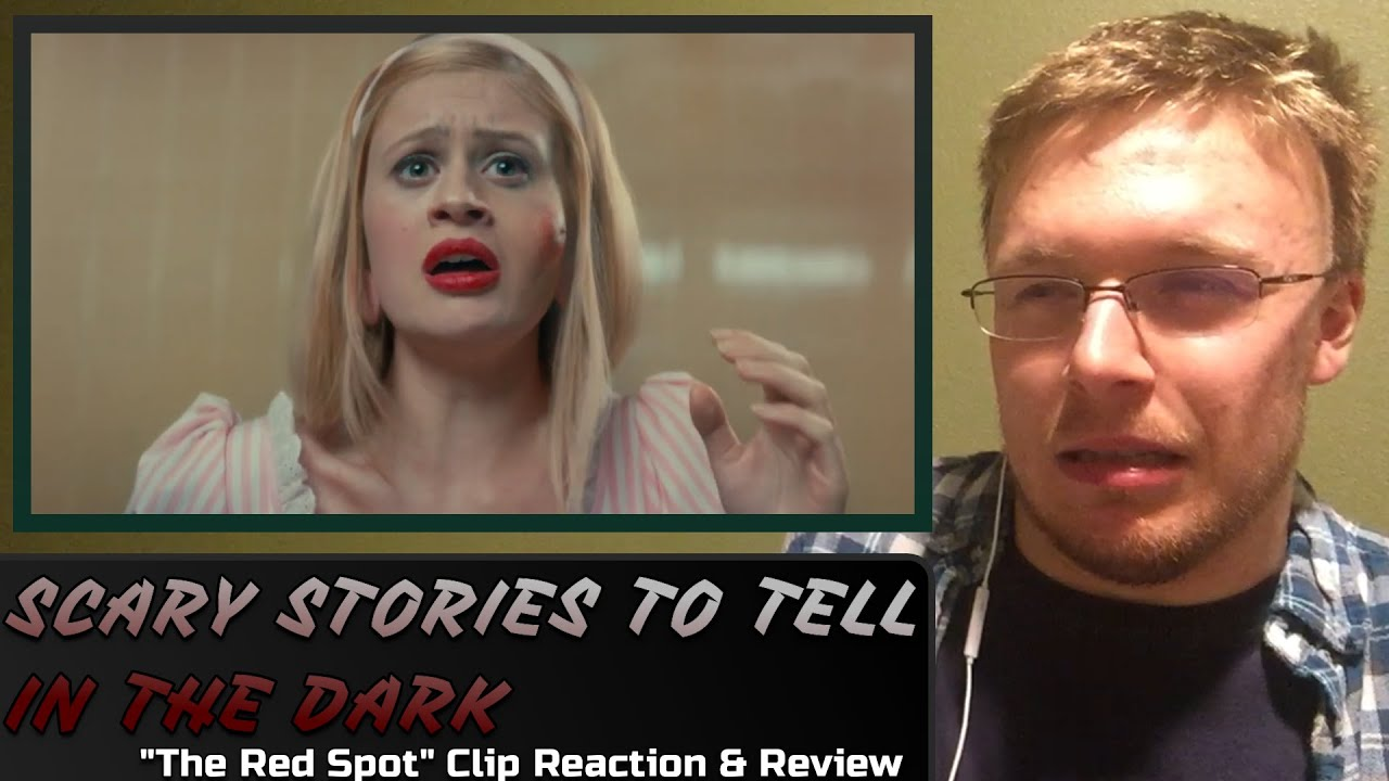 """SCARY STORIES TO TELL IN THE DARK: """"The Red Spot"""" Clip Reaction & Review"""