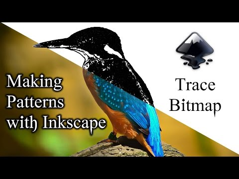Quick Trace Patterns in Inkscape  Trace Bitmap