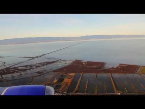 Early Morning Approach and Landing into Oakland International Airport