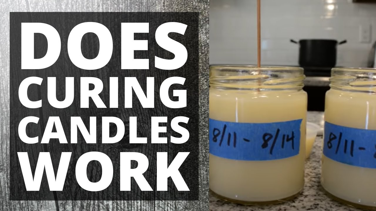 Do you need to cure your soy candles? Is it BS or not?
