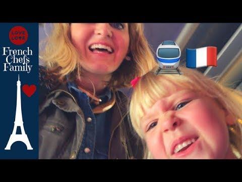 METROS, TRAINS, and CARNIVALS??? 🇫🇷  Family Travel Vlog in Paris France, Flight Attendant Mom Life