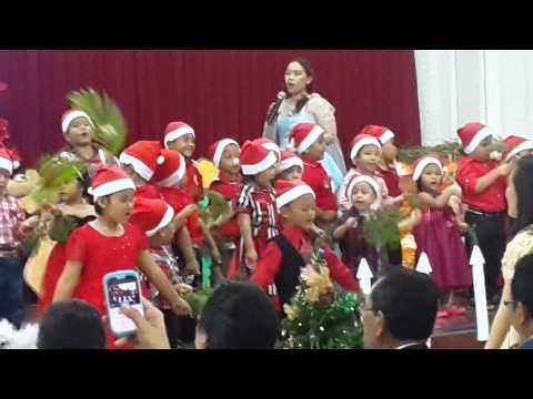 Natal Amsal HKBP Cijantung Pohon Terang