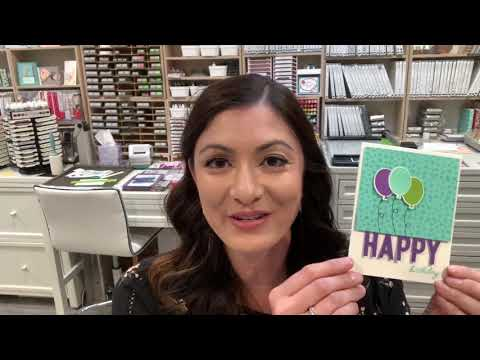 How To Create A So Much Happy Card! Elaine's Creations Stampin' Up!