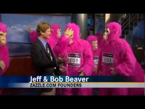 Zazzle Bay to Breakers and ZOMG Flash Mob on KRON4 News