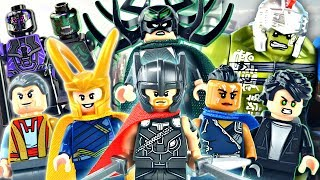 LEGO Marvel : Thor: Ragnarok Minifigures - Review