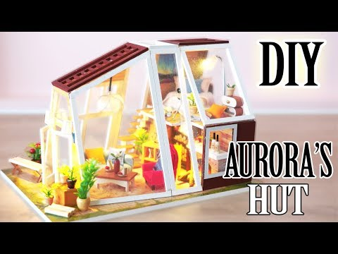 DIY Miniature Dollhouse Kit || Aurora's Hut - Miniature Land
