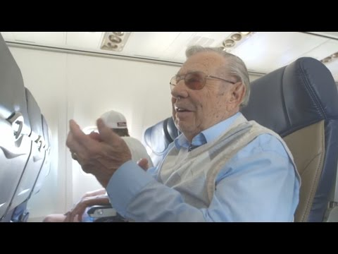 Airline makes dream come true for World War II pilot