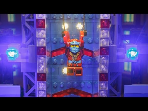 City Finals with Nya and American Ninja Warriors - LEGO NINJAGO #AmericanNinjaWarrior