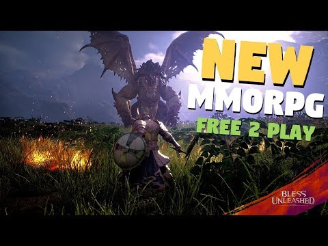 NEW Bless Unleashed Gameplay | Free To Play MMORPG, Open World, Action Rpg Combat