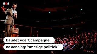 CAMPAGNEUPDATE #4: Kritiek op Baudet, campagne gaat door na 'Utrecht'