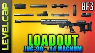 Loadout - JNG-90, Laser Sight .44 Magnum (Battlefield 3 Gameplay/Commentary/Review)
