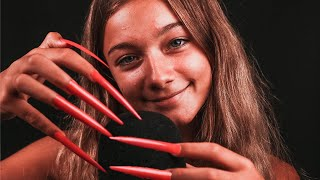 TAPPING WITH EXTREME LONG NAILS! (ASMR)
