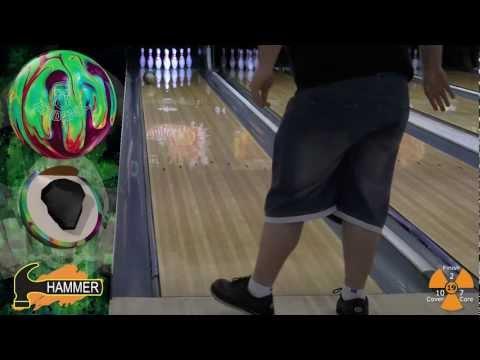 Hammer Epidemic bowling ball by Joe Stillman, BuddiesProShop.com