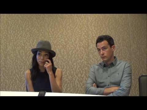 Bones Q&A with stars Tamara Taylor & John Boyd SDCC 2016