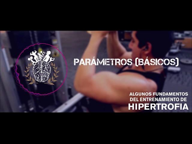 Principios para el entrenamiento de Hipertrofia