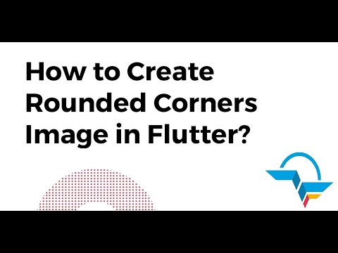 How to Create Rounded Corners Image in Flutter? | Flutter Tutorial | Flutter Agency