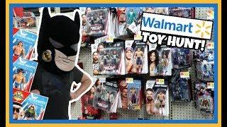 TOY HUNT!!! DAZE IN WALMART!!! WWE WRESTLING ACTION FIGURE FUN #101
