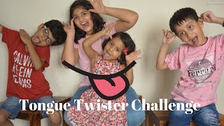Tongue Twister challenge | Indian Kids Tongue Twister challenge | Birthday party game