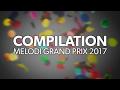 Compilation af de 10 sange | Melodi Grand Prix 2017 | DR1