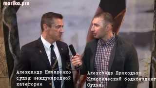 Александр Назаренко, судья международной категории. осень 2013