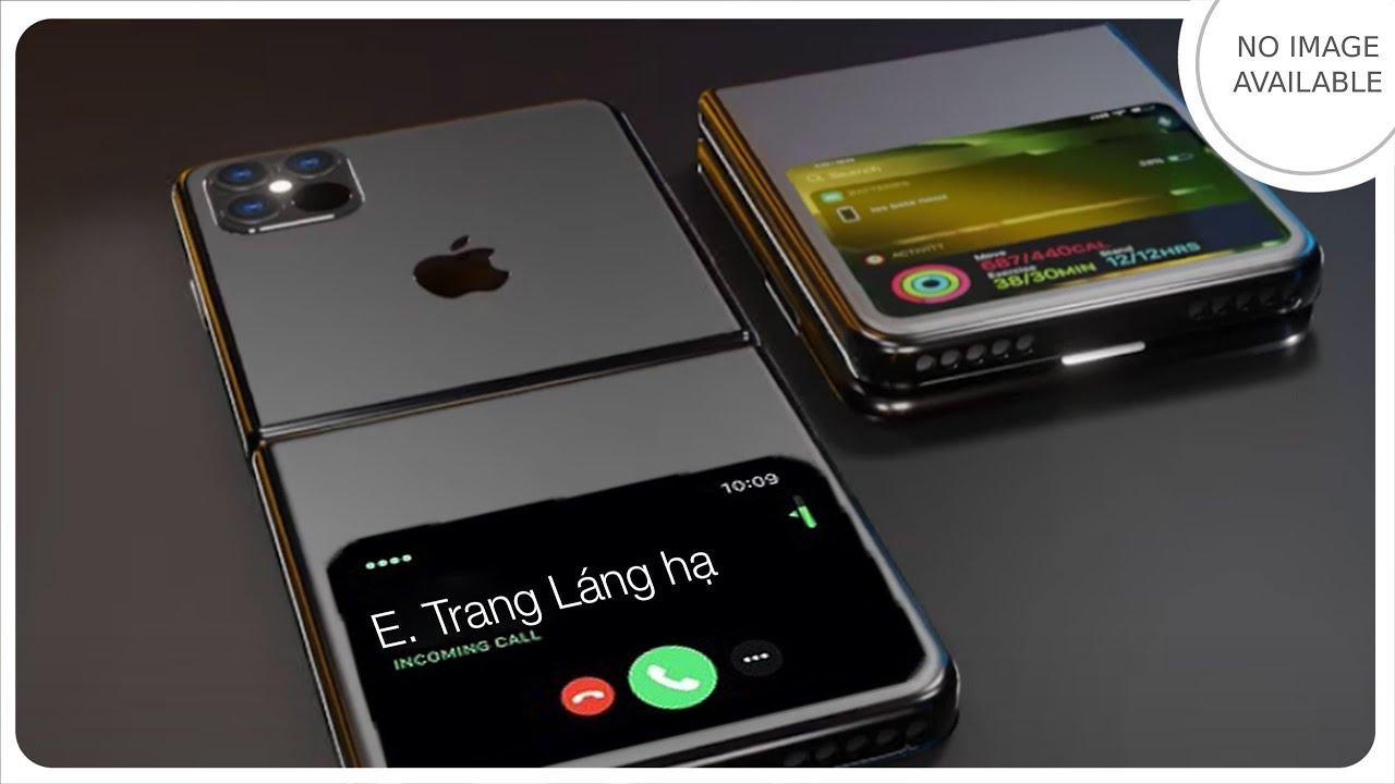 Ngắm iPhone 12 Flip với màn hình ở… mông