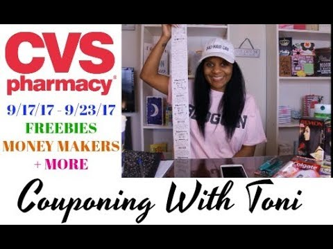 CVS Couponing Haul 9/17/17 (Funny Ending) ~ Happy Sunday