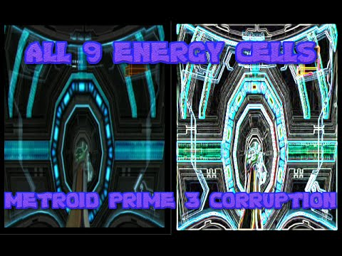 Metroid Prime 3 Corruption ALL ENERGY CELLS