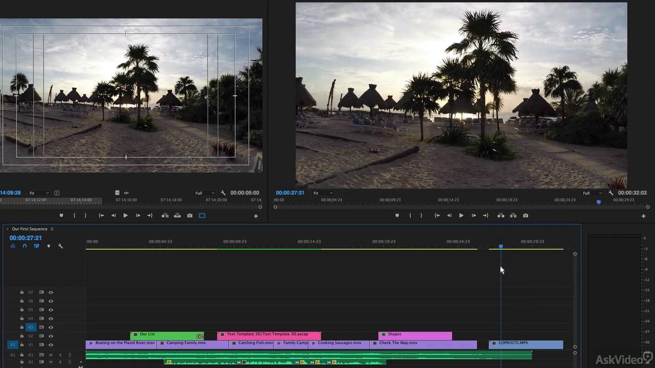 Premiere Pro CC 105: Advanced Techniques - 8  Lens Distortion Correction