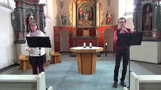 Frühlingskonzert des Trio eufonia in der St. Anna-Kapelle Leverkusen-Lützenkirchen 15.5.2020